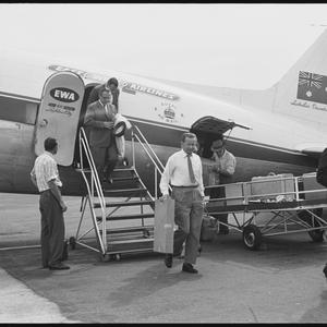 East West Airway travellers flight to Tamworth, January 1961 / photographs by R. Donaldson