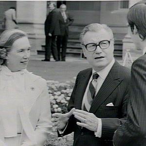 Visit of Vice-President Rockefeller, USA