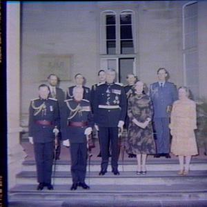 Governor & Lady Cutler with Prince Bertil & Princess Lillian of Sweden