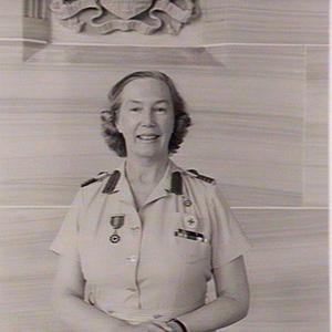 Lady Cutler in V.A.D. uniform