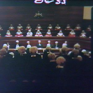 Swearing-in of new Supreme Court judge, Mr Justice Allen