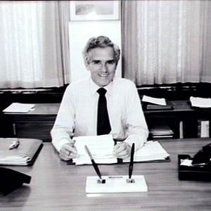 Portrait of Mr Gerry Gleeson, Secretary of Premiers Dept