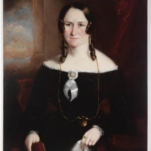 Christina Sinclair, 1846 / oil portrait by Joseph Backler