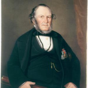 Thomas Watson, 1859 / oil portrait by Joseph Backler
