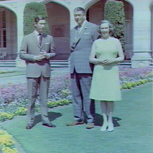 Sir Roden and Lady Cutler with Prince Charles