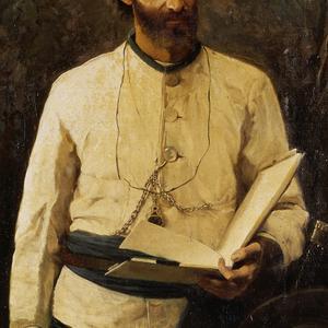 Portrait of N. de Miklouho-Maclay, 1886 / Korsuhin