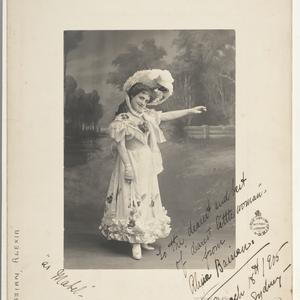 Alexia Bassian, soprano, as Mabel in The pirates of Penzance, 1905 / Talma & Co., 374 George Street, Sydney, and at Melbourne