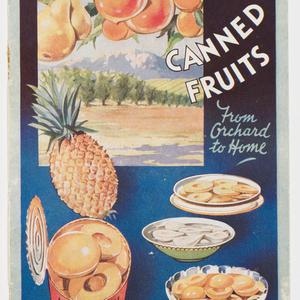 Australian canned fruits : from orchard to home.