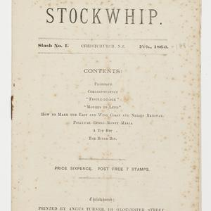 The stockwhip.