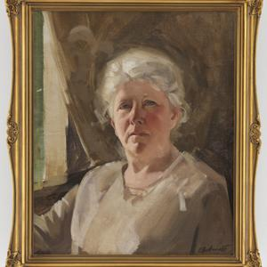 [A.M.E. (Alice Marian Ellen) Bale] / portrait by E. Buckmaster