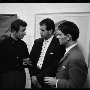 Barry Sterns, art show, 21 November 1961