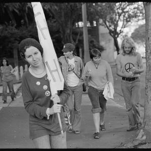Item 0034: Tribune negatives including May Day march, May 1974 / photographed by Anne