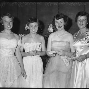 """Party - Melbourne - """"Woman"""" Party page, 16 December 1950"""