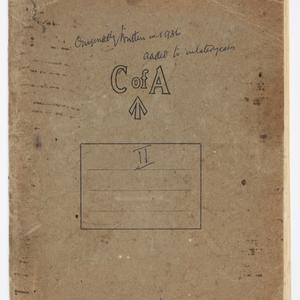 Item 2: [John Laidley Mort memoirs and photographs, volume 2, ca. 1880-ca. 1967]
