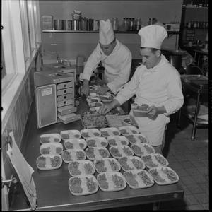 ANA [Ansett-ANA] snacks in air, 31 July 1968