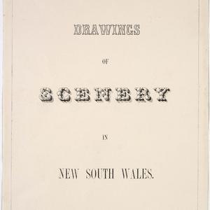 [Views of Van Diemen's Land and New South Wales] / J. Lycett
