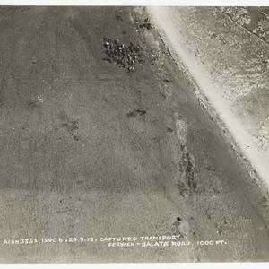 Sir Hudson Fysh - aerial photographs, Palestine, 1918