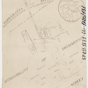 [Drummoyne subdivision plans] [cartographic material]