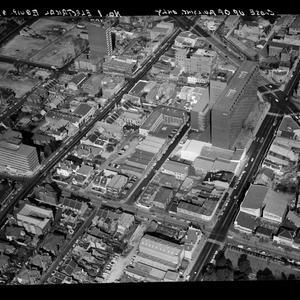 Item 41: Milton Kent aerial views of North Sydney, Padstow, Stanmore, ca. 1963; University of Sydney, 1970