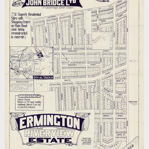 [Ermington subdivision plans] [cartographic material]