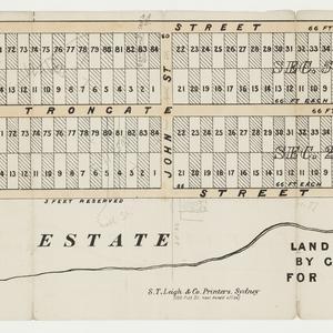 [Granville subdivision plans] [cartographic material]