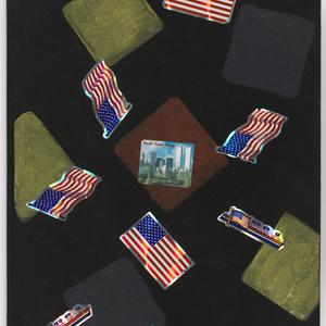 Item 10: George Gittoes art diary, ca. July 2005-ca. December 2005