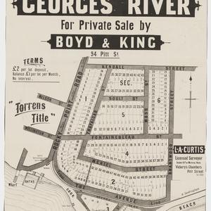 [Sans Souci subdivision plans] [cartographic material]