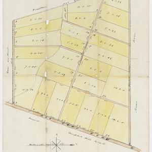 [Fairfield subdivision plans] [cartographic material]