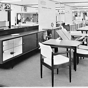 Chiswell Furniture stand, Furniture Exhibition, 1963