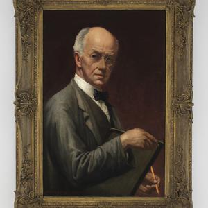 Item 03: Self portrait, 1930 / Norman Carter