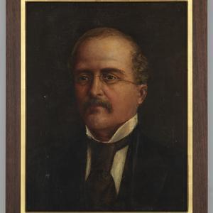 Portrait of Dr. J.J. Streeter, ca. 1890-1900 / Catherine Elizabeth Streeter