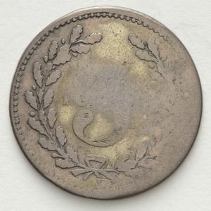 Item 4133: Hogarth Erichsen &C threepence token, 1858