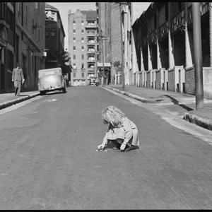 Road safety series in Sydney streets, 25 October 1938 / photographed by Ray Olson