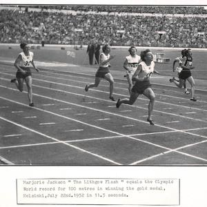 [New South Wales Amateur Athletic Association photoprints of sportspeople 1950-1969]
