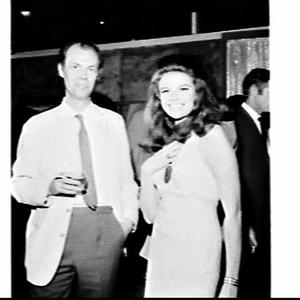 Editor Richard Cavendish at a trade reception for newsagents and publishers for the magazine Man, myth and magic at Channel 7 Television Studios, Epping