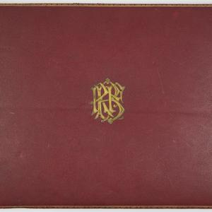 Farewell presentation album to Mr. and Mrs. Robert Brough from the playgoers of Sydney, 1897